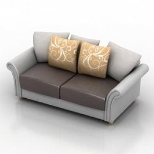 Sofa 3d Model Free Download 3d Models Id789 3ds Gsm Open3dmodel