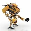 Transformer Robot 3D Model