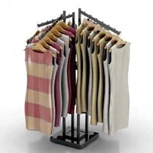 Rack Dress 3d Model Free Download 3d Models Id1557 3ds