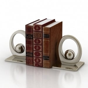 Bookend 3D Model