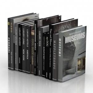 Books Free 3d Model 3ds Gsm Open3dmodel 1707