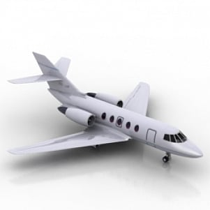 3d airplane model free download