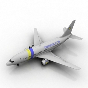 Passenger Plane 3D Model Free Download 3D Models ID2233 (3ds