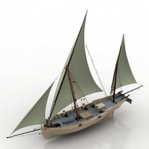 Sailing Boat 3d Model Free Download 3d Models Id2271 3ds