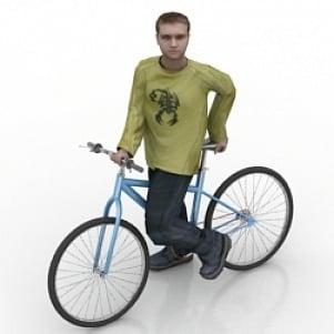 Polkupyörä Man