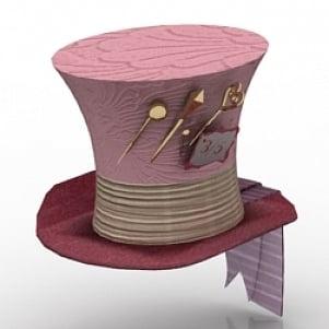 Magic Hat 3D Model