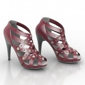 Wire High Heels