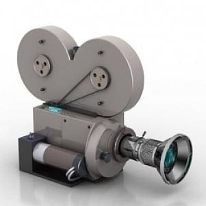 Vintage Camera 3D Model Free Download 3D Models ID2459 (3ds