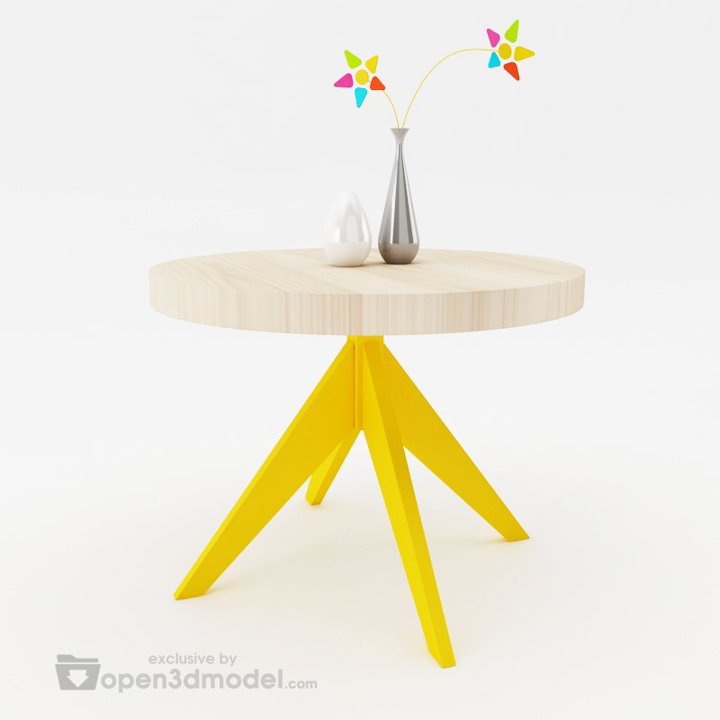 Slow Table  Vray