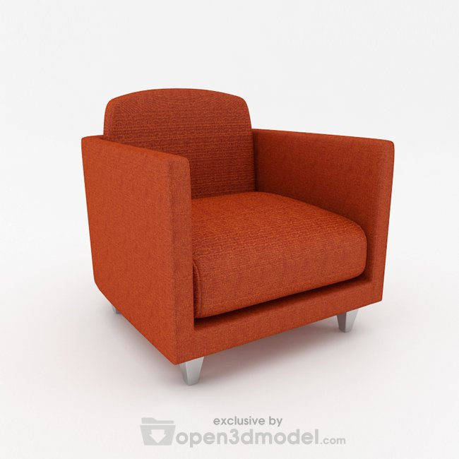 Armchair 3D Max Model Vray