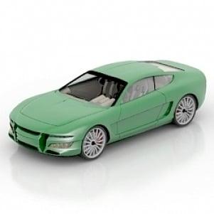 Tasergal Car 3D Model