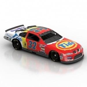 Nascar Car 3D Model