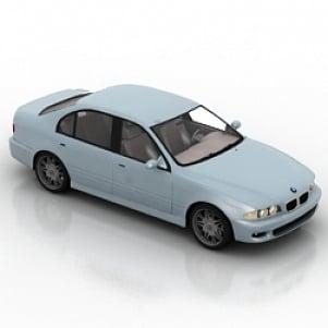 BMW Car 3D Model
