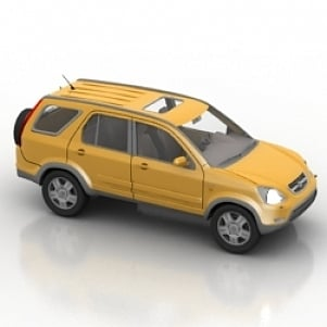Honda Crv Car 3D Model