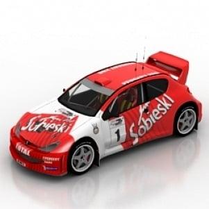 Car Peugeot 3D Model