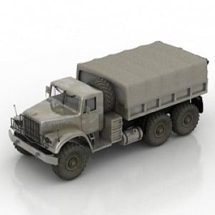 Kraz Car 3D Model