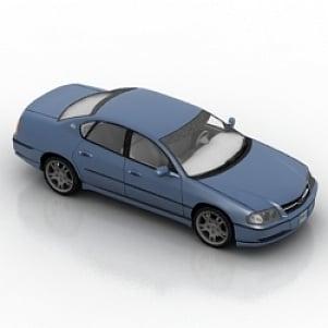 Car chevrolet impala 3D Model