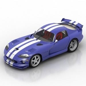Car Viper 3D Model