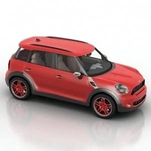 Mini Cooper Countryman Car 3D Model