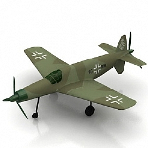 PFEIL Airplane 3D Model