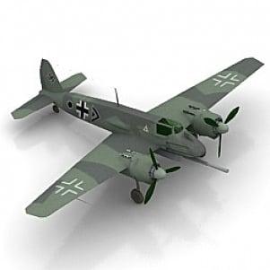 HENSCHEL Airplane 3D Model