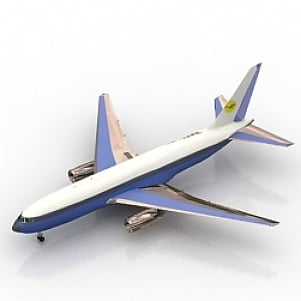 T767 Airplane 3D Model