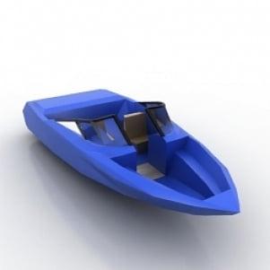 Sport Cutter 3D Model