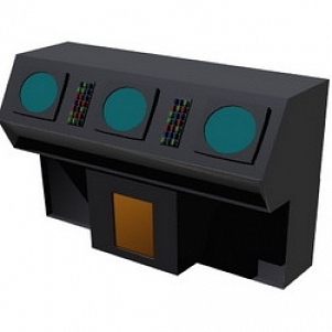Radarconsole 3D Model