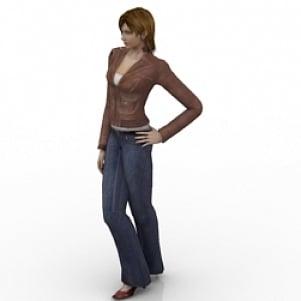Girl 3D Model