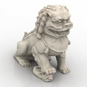 Asian Dragon 3D Model