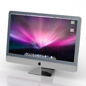 Mac Cinema 3D Model