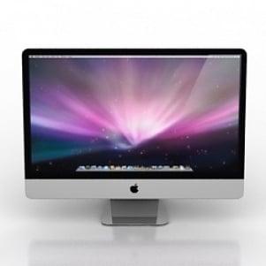 iMac Monitor 3D Model