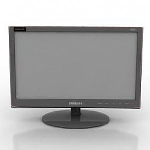 Samsung Monitor 3D Model