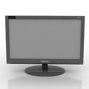 Samsung Monitor 3D Model