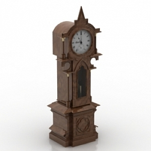 Striking Clock 3D Model