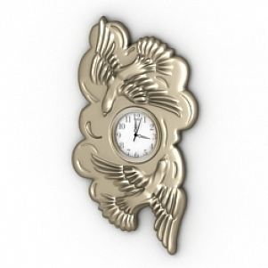 Decoration Wall Clock 3D Model