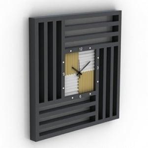Frame Clock 3D Model