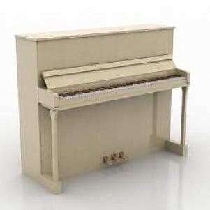 Instrument Piano 3D Model