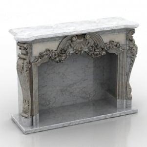 Fireplace chimney 3D Model