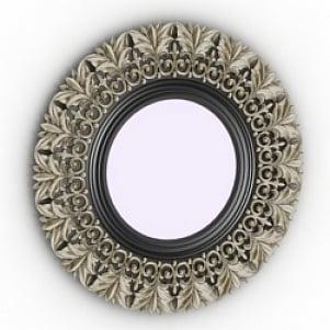 Round Mirror Decoration