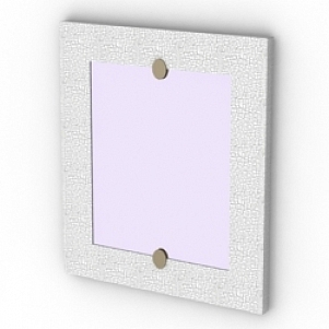 Rectangle Mirror 3D Model