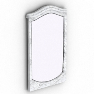 Marble Frame Mirror 3D Model