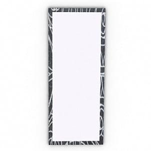 Simple Rectangle Mirror 3D Model
