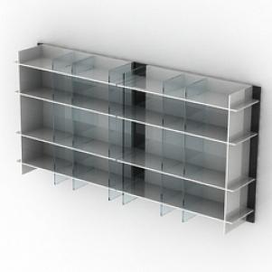 Glass Shelf 3D Model