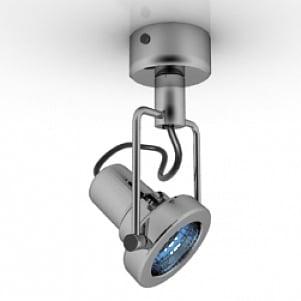 Ceiling Spot Lamp 3D Model