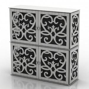 Locker Tonin Casa Anteprima 3D Model