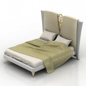 Bed Redeco 3D Model