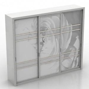 Wardrobe Dresser 3D Model