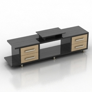 Rack TV Stand 3D Model