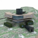 Building Bunker 3D Model